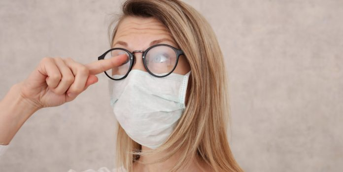 How to Stop a Mask from Fogging Your Glasses?