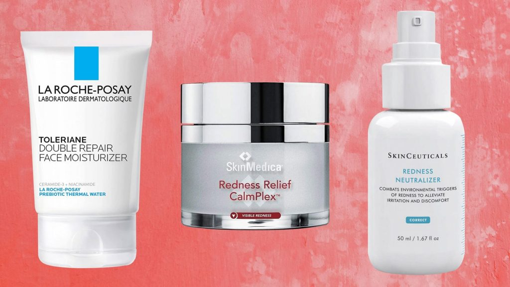 face products for redness