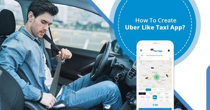 Create Uber Like Taxi App