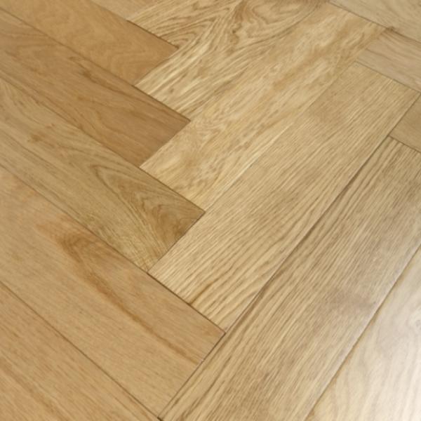 oak herringbone flooring